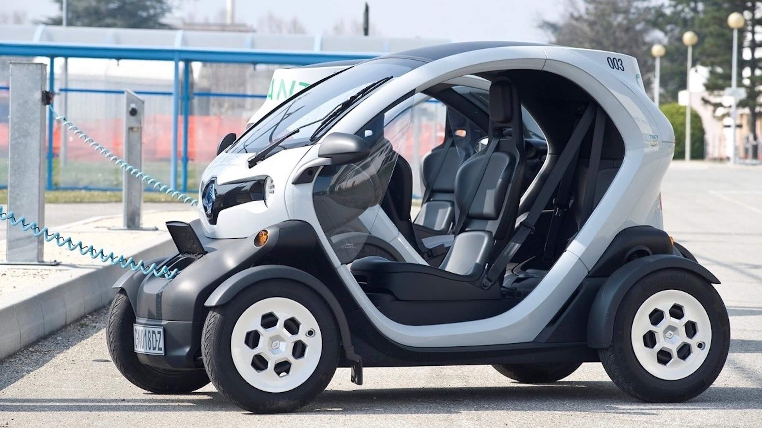 Renault Twizy without doors